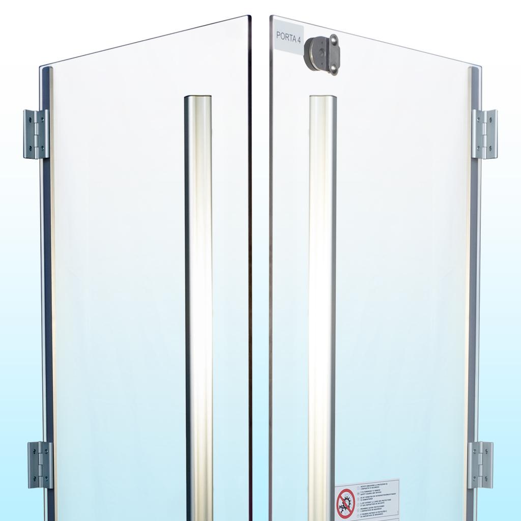 porta policarbonato